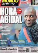Portada Mundo Deportivo del 5 de Abril de 2013