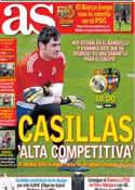 Portada diario AS del 6 de Abril de 2013