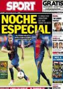Portada diario Sport del 6 de Abril de 2013