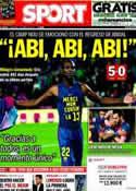 Portada diario Sport del 7 de Abril de 2013