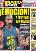 Portada Mundo Deportivo del 7 de Abril de 2013