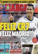 Portada diario Marca del 8 de Abril de 2013