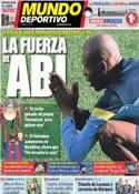 Portada Mundo Deportivo del 8 de Abril de 2013