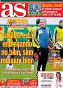 Portada diario AS del 9 de Abril de 2013