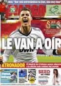 Portada diario Marca del 9 de Abril de 2013