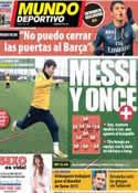 Portada Mundo Deportivo del 9 de Abril de 2013