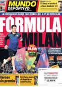 Portada Mundo Deportivo del 10 de Abril de 2013