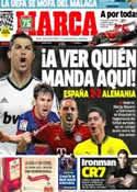 Portada diario Marca del 11 de Abril de 2013