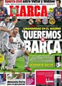 Portada diario Marca del 12 de Abril de 2013