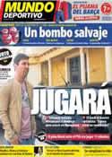 Portada Mundo Deportivo del 12 de Abril de 2013