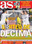 Portada diario AS del 13 de Abril de 2013