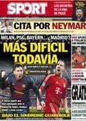 Portada Mundo Deportivo del 13 de Abril de 2013