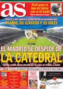 Portada diario AS del 14 de Abril de 2013