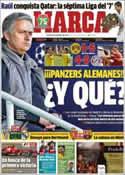Portada diario Marca del 14 de Abril de 2013