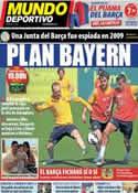 Portada Mundo Deportivo del 14 de Abril de 2013