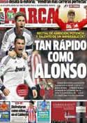 Portada diario Marca del 15 de Abril de 2013