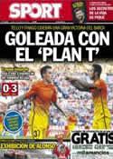 Portada diario Sport del 15 de Abril de 2013