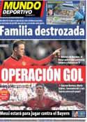 Portada Mundo Deportivo del 17 de Abril de 2013