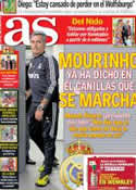 Portada diario AS del 18 de Abril de 2013