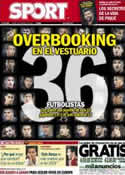 Portada diario Sport del 18 de Abril de 2013