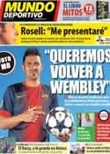 Portada Mundo Deportivo del 19 de Abril de 2013