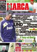 Portada diario Marca del 20 de Abril de 2013