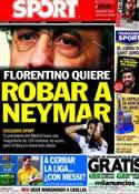 Portada diario Sport del 20 de Abril de 2013