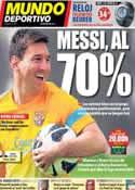 Portada Mundo Deportivo del 20 de Abril de 2013