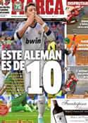 Portada diario Marca del 21 de Abril de 2013