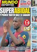 Portada Mundo Deportivo del 21 de Abril de 2013