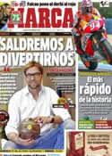 Portada diario Marca del 22 de Abril de 2013