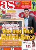 Portada diario AS del 23 de Abril de 2013