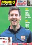 Portada Mundo Deportivo del 23 de Abril de 2013