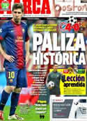 Portada diario Marca del 24 de Abril de 2013