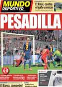 Portada Mundo Deportivo del 24 de Abril de 2013