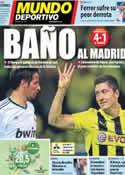 Portada Mundo Deportivo del 25 de Abril de 2013