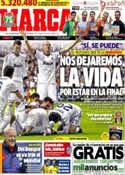 Portada diario Marca del 26 de Abril de 2013