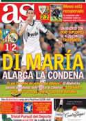 Portada diario AS del 28 de Abril de 2013