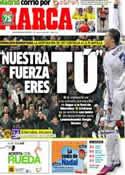 Portada diario Marca del 29 de Abril de 2013