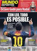 Portada Mundo Deportivo del 29 de Abril de 2013