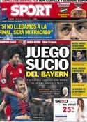 Portada diario Sport del 30 de Abril de 2013