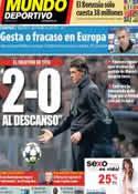 Portada Mundo Deportivo del 30 de Abril de 2013