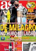 Portada diario AS del 1 de Mayo de 2013
