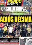 Portada Mundo Deportivo del 1 de Mayo de 2013