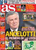 Portada diario AS del 2 de Mayo de 2013