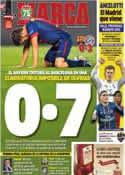 Portada diario Marca del 2 de Mayo de 2013