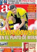 Portada diario AS del 3 de Mayo de 2013