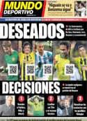 Portada Mundo Deportivo del 3 de Mayo de 2013