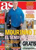 Portada diario AS del 4 de Mayo de 2013