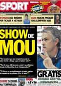 Portada diario Sport del 4 de Mayo de 2013